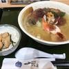 鮮八の海鮮ラーメンとミニ丼セット