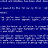 (1/2)BSOD(STOP:0x00000024と0x0000007f)が発生した