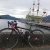 ロードバイクで箱根芦ノ湖まで。箱根駅伝コース(国道一号線)は車通りが多いので早朝がおすすめ!!