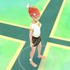 【ポケモンGO】「水タイプ」のポケモン祭りに伴い、コイキング帽子を装着!