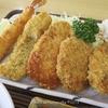 豪華五点盛りのミックスフライ定食が美味いぞ!@大松食堂 千葉県船橋市 数十回目