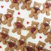 簡単かわいいクマの抱っこクッキーのレシピと作り方。クランベリーを持たせてみたらかわいすぎた!