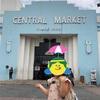 CENTRAL MARKETでバティック体験 2019年秋・3歳娘とマレーシア子連れ旅行(5)