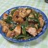 ダイエット料理、鶏むね肉とピーマンの炒め物