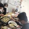 【りんごの樹】初開催❗たこ焼きパーティー🐙( '-' 🐙 )