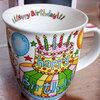 誕生日プレゼントはポップで可愛いマグカップ♪