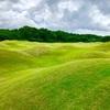 レッスンを受けてすぐに実戦ラウンド…結果がすぐに出て嬉しくて笑っちゃいます。 Gaylord Springs Golf Links。