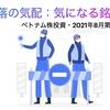 暴落の気配:気になる銘柄【ベトナム株投資・2021年8月第3週】