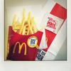 マクドナルドの「シャカシャカポテト ダブルチーズバーガー味」を食べました。