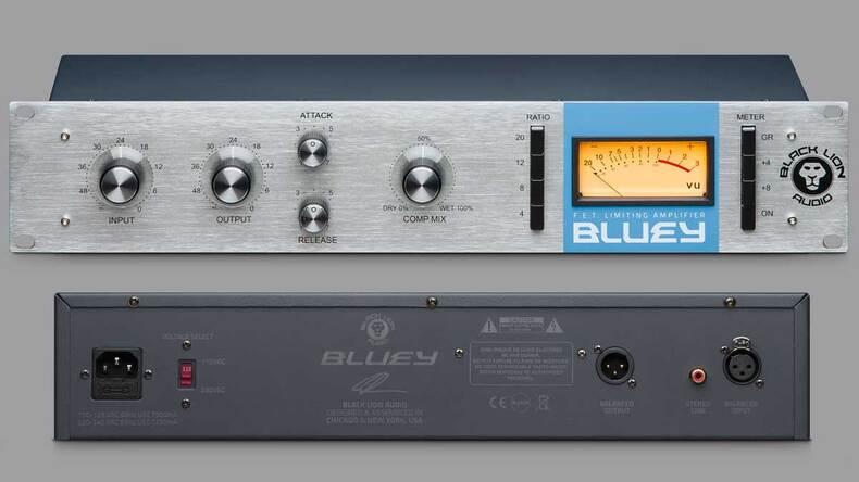 クリス・ロード=アルジ氏の初期型1176を再現したコンプBLACK LION AUDIO Bluey
