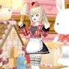 【タータンキャップ&ドレス上】で『アイスクリームショップ』ドレア