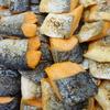 塩鮭と出汁巻三種