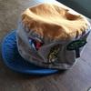 昨日買った帽子