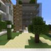 【Minecraft】市役所・マンション一体型施設を建てる④ 完成・外構編【コンパクトな街をつくるよ12】