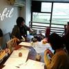 レッスンレポート)2/4 本川町教室 初めての方も楽しいレッスンでした。