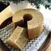 手作りの緑茶シフォンケーキ&豆乳食パン