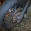 #バイク屋の日常 #ヤマハ #XT250X #タイヤ交換
