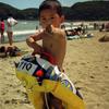 【行楽】弓ヶ浜で海水浴(1993年7月)