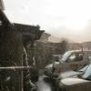 【東北の写真】遠野は雨模様