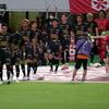 FC岐阜vs福島ユナイテッドFC(8月28日)限定ユニフォーム着用。