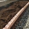 家庭菜園用の畑をレンガとセメントブロックでDIY