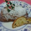 本日応用クラスです。シュトーレンと、フルーツ食パン、クリスマスケーキです