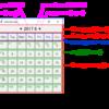 python tkinterでカレンダーを作成する(カレンダー編②)