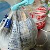 我が家の生ゴミ袋はパン袋。臭いも漏れず自立可能で頑丈だから使いやすい。