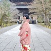 南禅寺で着物ポートレート撮影。