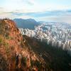 慈雲山をナイトハイキング