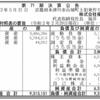 株式会社福寿園 第71期決算公告