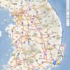 East coast bicycle tour