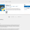 Windows10でPython2.7を起動するとMicrosoftStoreが起動してしまう件について