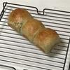 よもぎパン、餅グラタンと野菜オムレツとラタトゥイユ