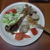 幸運な病のレシピ( 153 ) マダラ子、鳥エビ巾着、肉豆腐、ハタハタ唐揚、干し柿&ボジョレーヌーボー