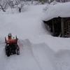 除雪の一日