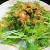 超さっぱり【1食65円】水菜のミョウガしそポン酢サラダの作り方~はりはり~