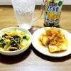 ☆美味しい給食☆イカのチリソース☆わかめのドレッシング和え☆