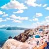 美しき碧に出逢おう。サントリーニ島の魅力