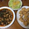 麻婆豆腐と鶏むね肉の唐揚げを夕食に決定 体調不良になってしまった日