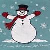 319 ビンテージ スウェット 80's フルーツ・オブ・ザ・ルーム 雪だるま