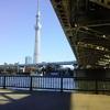 東武スカイツリーラインの鉄橋下