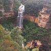 シドニー近郊の圧巻の崖!ブルーマウンテン国立公園内のウェントウォースの滝に行ってきたき