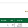 引け成注文を発注した。現在、マイナス115万円(>_<) この日を忘れない