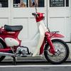 リトルカブ 赤/白 2000年式 フルノーマル キャブレター 3速リターン(THANK YOU SOLD OUT!!)