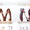 水彩画「Parade Monkey-Newt」