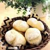 ふかふか白パン