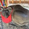 東京・向島の牛嶋神社で、牛の像を撫でてきました(^o^)《撫◯◯シリーズ #1》