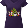 Lovely The Beatles band Singing Christmas Tree sweater