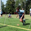 サッカーにおけるランニングスプリント(短時間の反復スプリントテスト:RST(12×20m、回復時間20秒)におけるPD(パフォーマンスの減衰)とVO2peakの間には有意な相関関係がある